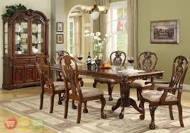 China Cabinet And Dining Room Set Formal Dining Room Furniture Marceladick