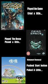 Dead Space Meme - bioshock dead space katamari damacy meme by superfifibros on