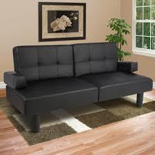 sofas center black leather twin size sofa loveseat sleeper