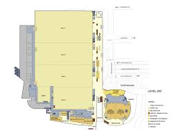 Floor Palns by Floor Plans Cobo Center Detroit Michigan