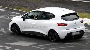 renault clio 2012 renault clio rs spied without the camouflage