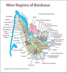 Wine Map Of France by Bordeaux U2013 France U2013 Swe Map 2017 U2013 Wine Wit And Wisdom