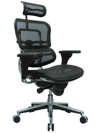 desk chair with headrest eurotech me7erg mesh office chair with headrest by raynor on the