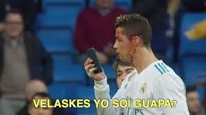 Cristiano Ronaldo Meme - velaske yo soi guapa las redes sociales se mofan de cristiano