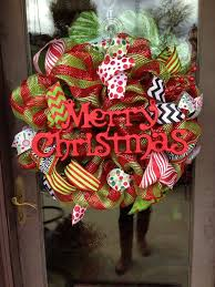 405 best deco mesh images on winter wreaths