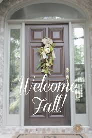 super easy fall decor domestic charm