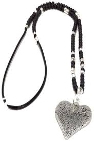 heart bead necklace images Envy jewellery heart bead necklace from bristol by pomegranate jpg