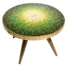 Mosaic Table L Venetian Mosaic Top Table By Vladamir Kagan For Kagan Dreyfuss Usa