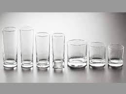 bicchieri in vetro bicchiere di vetro collezione cortina porcellane posate