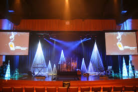 Christmas Window Decorations For Church by Thoughts On Christmas Decor U2026 Church Stage Church Stage Design