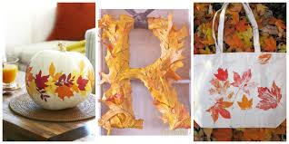 leaf crafts diy decorating projects with leaves 20 photos loversiq