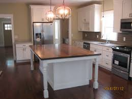 kitchen island post reeded island post