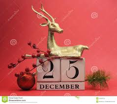 theme save the date calendar for day december 25