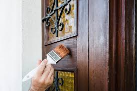 is it better to paint or stain your kitchen cabinets how to paint or stain your doors s glass window works