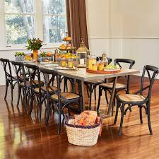 Dining Table Clearance Ikan Dining Table 300x100 Iron Recycled Pallet Pine