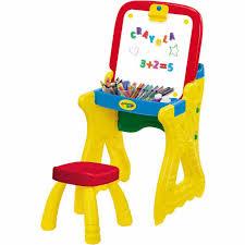 crayola childrens fold play desk art drawing studio kids table