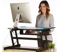 Adjustable Height Computer Desks by Standing Desk The Deskriser Height Adjustable Heavy Duty Sit
