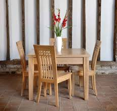 Oak Dining Table And Chairs 6 Seater Handmade Oak Dining Table And Chairs By The Craftsmen At