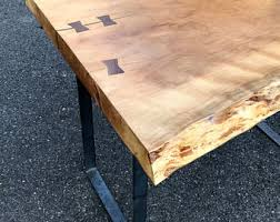 Wood Slab End Table by Slab Coffee Table Etsy