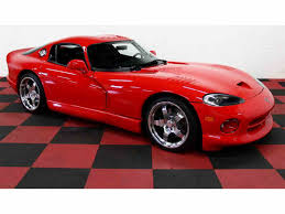 dodge viper chassis for sale dodge viper for sale on classiccars com 62 available