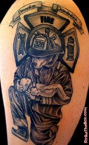 shanninscrapandcrap firefighter tattoos