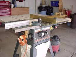 table saw router combo craftsman tablesaw modifications