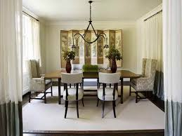 drapery for dining room ideas donchilei com