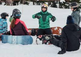 mt baker ski area winter ride