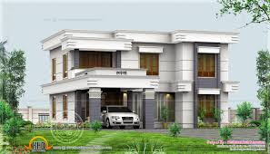 4 bedroom flat roof design in 2500 sq ft kerala home design and