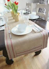 burlap table runner 23 inspiring ideas to enhance your home
