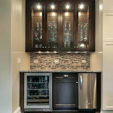 Glass Bar Cabinet Designs Fascinating Glass Bar Cabinet Home Bar Cabinets By Ethnic Chic