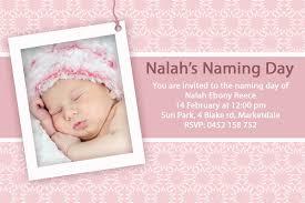 Example Of Invitation Card For Birthday Baby Christening Invitation Template U2013 Orderecigsjuice Info