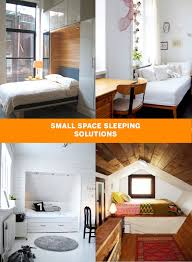 small space sleeping solutions apartment therapy