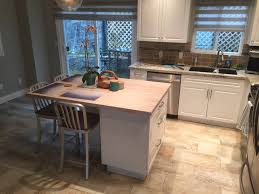 kitchen island build w white washed butcher block counter top kitchen island build w white washed butcher block counter top