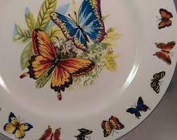 butterfly platter butterfly plate etsy