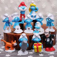 action figure smurfs toys ebay