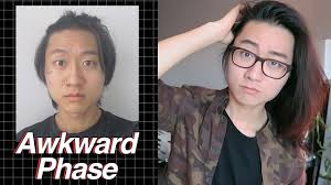 wavy long hair awkward stage men growing short to long hair mens hairstyle tips youtube