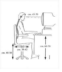 postura corretta scrivania come prevenire il mal di schiena posizioni e posture da adottare