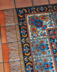 Rug Tiles Martha Stewart Home Tour Adamson House Martha Stewart