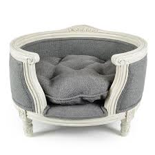 george burlap grey lord lou luxury pet furniture