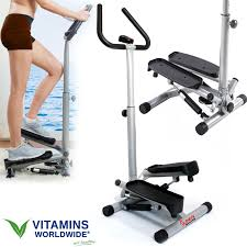 stair stepper machine climber exercise twist handle bar fitness