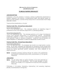 Best Ultrasound Resume by Clinical Nurse Specialist Cover Letter