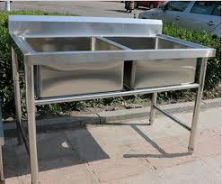 Kitchen Sink Displays Corrosion Resistant Stainless Steel Display Racks Bowl