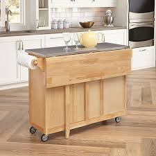 kitchen kitchen island with trash bin with movable kitchen island