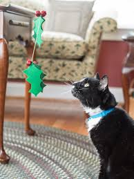 how to make a christmas cat spinner wand craft materials wand