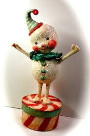 110 best paper mache xmas images on pinterest paper clay