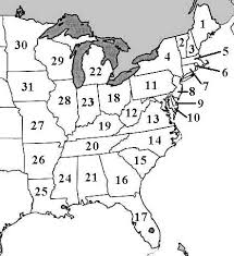 map of northeast us states with capitals fifty states elementary social studies lessons worksheet my