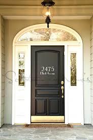 front door decals numbers sticker hello decal green doors secret address house number with street name vinyl wall decal front door sidelight decals window stickers numbers