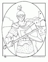 knights shining armor coloring pages medieval times
