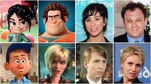 13 animated characters eerily stars voiced
